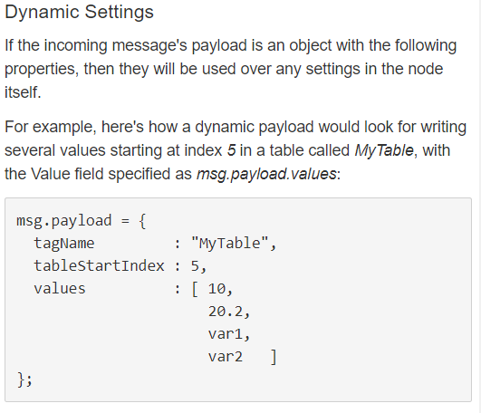 Node-Red SNAP PAC Write Node table index - Node-RED - OptoForums