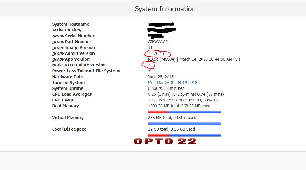 Node-RED Update Fails - Node-RED - OptoForums