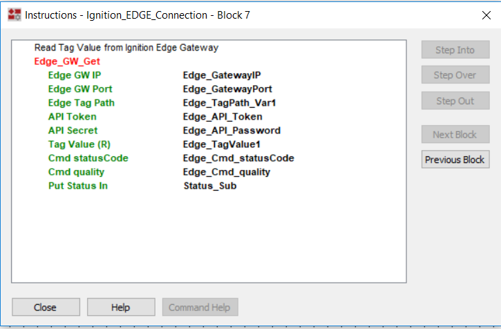 Integrating Ignition Edge Gateway Tags into the EPIC Control Engine